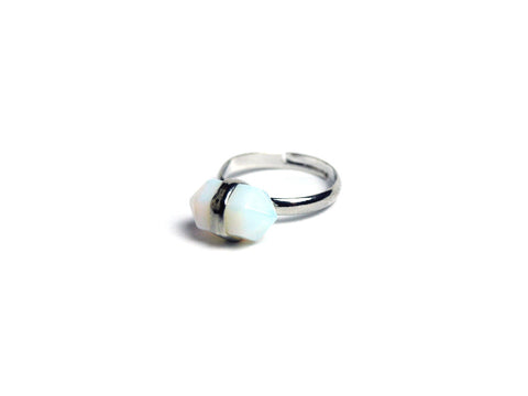 Small Opal crystal Ring #360