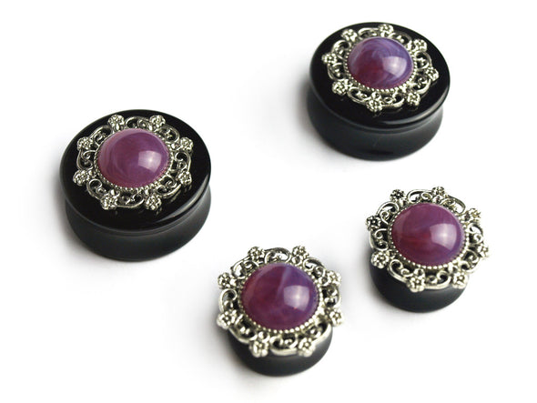 Purple Witchy Plugs - Fux Jewellery