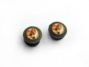 Small Fox Plugs - 18mm