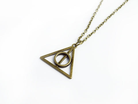 bronze HP Necklace #385