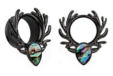 Black Forest Spirit Tunnel #PT01-B - Fux Jewellery