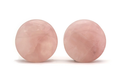 Rose Quartz Plugs