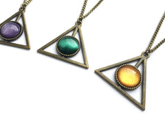bronze HP color Necklace #236