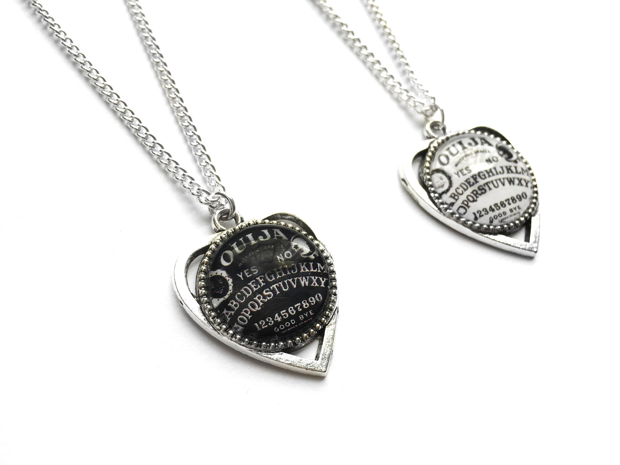 Silver Ouija Planchette Necklace | Fux Jewellery