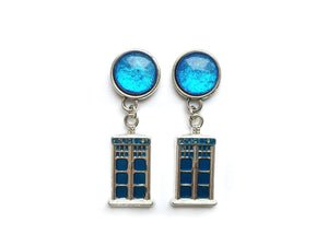 Dr. Who Inspired Plugs - Fux Jewellery