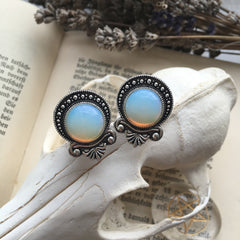 Teardrop Moonstone Plugs #533
