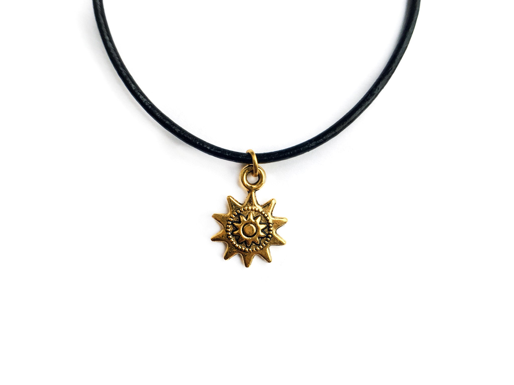 Golden Sun Choker | Fux Jewellery