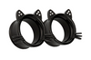 Black Kitty Tunnel #835 - Fux Jewellery