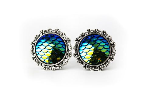 Mermaid Scale Plugs #556