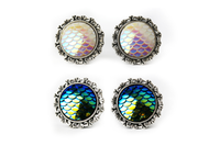 Mermaid Scale Plugs #556 - Fux Jewellery