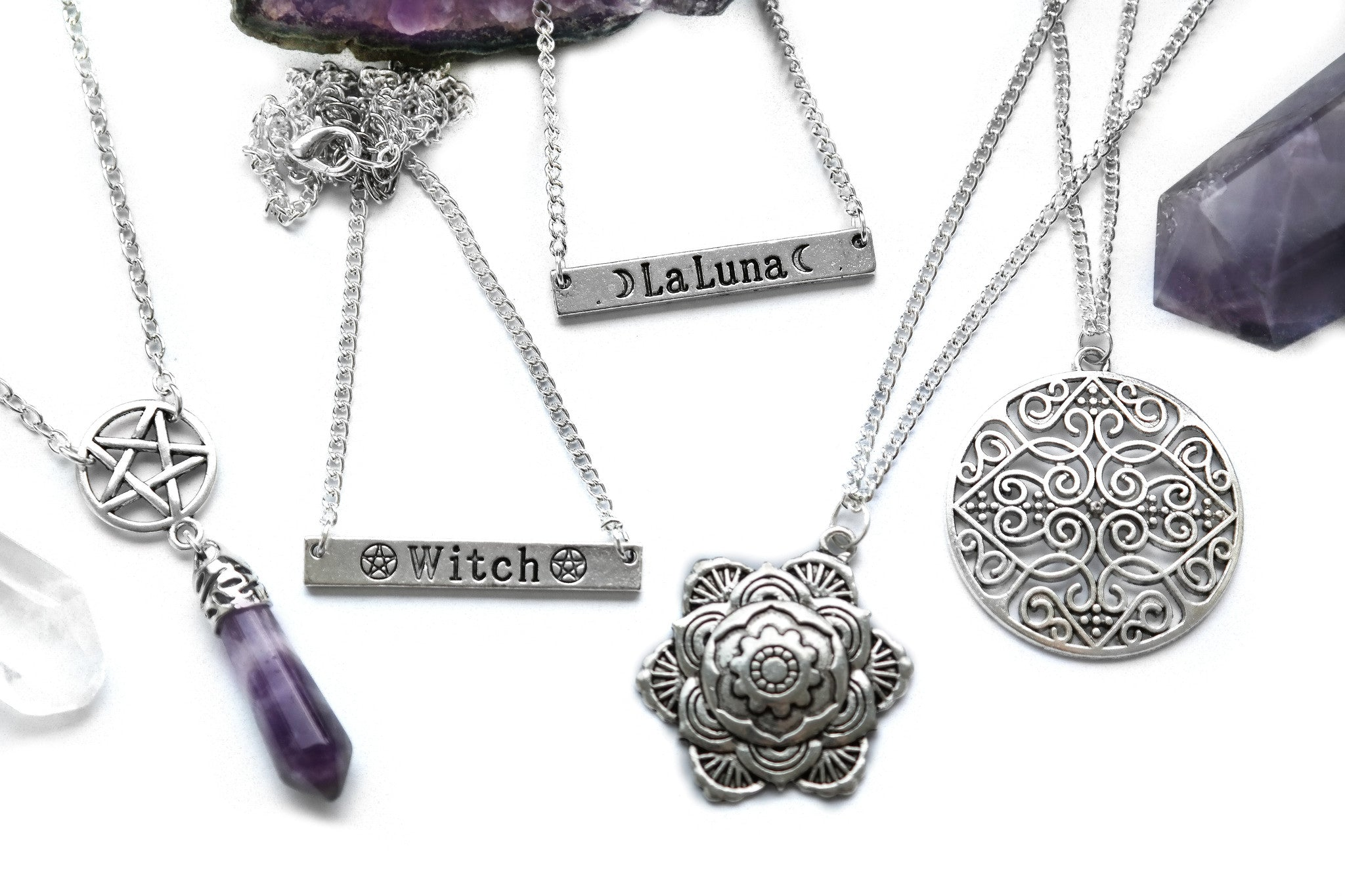 Silver Witch Necklace | Fux Jewellery