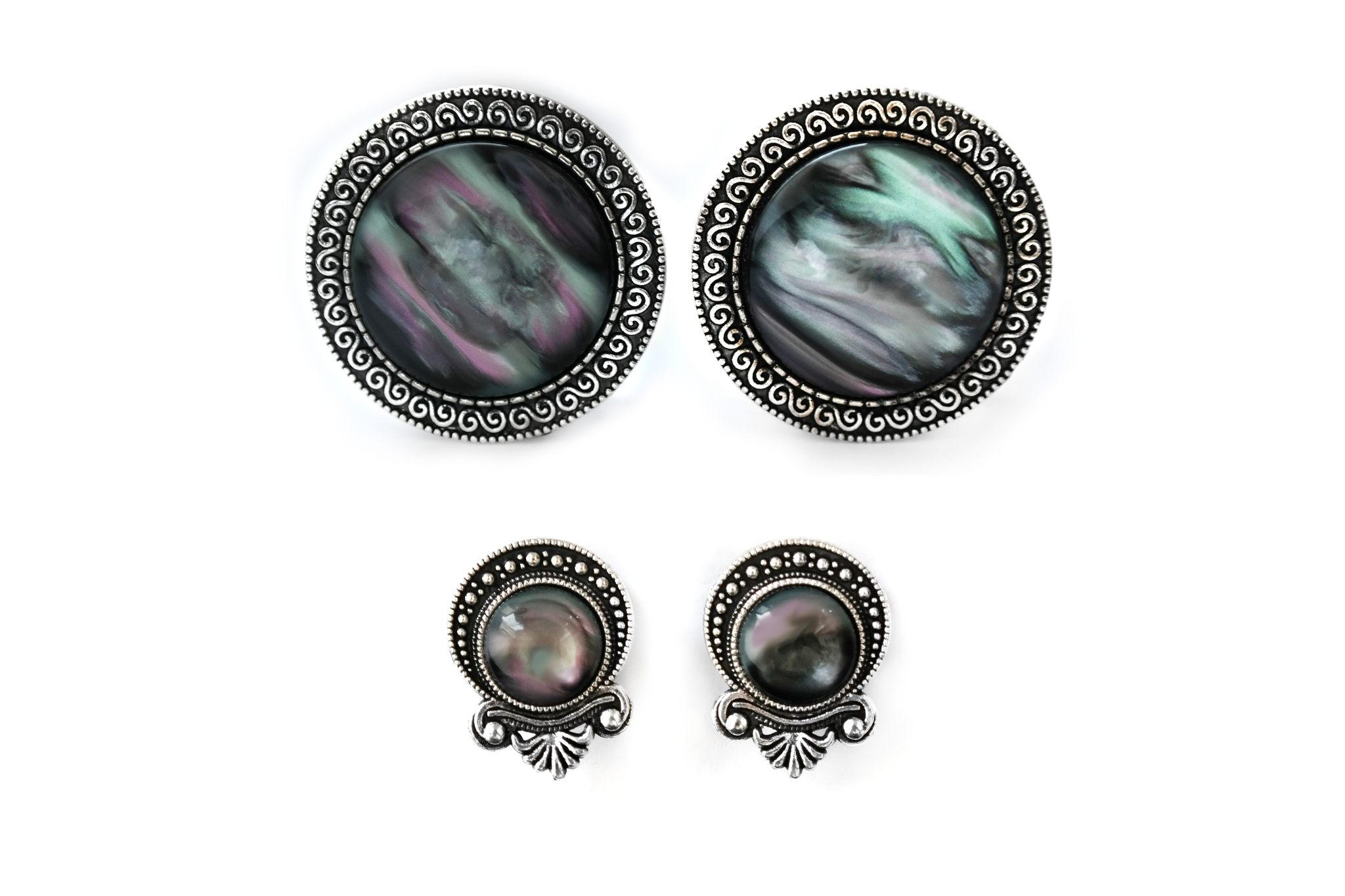 big sacred Nebula Plugs #587