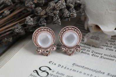 Rose Gold Teardrop Plugs #P08 - Fux Jewellery