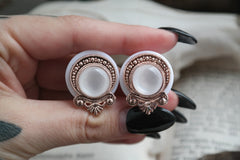 Roségold Teardrop Plugs #708