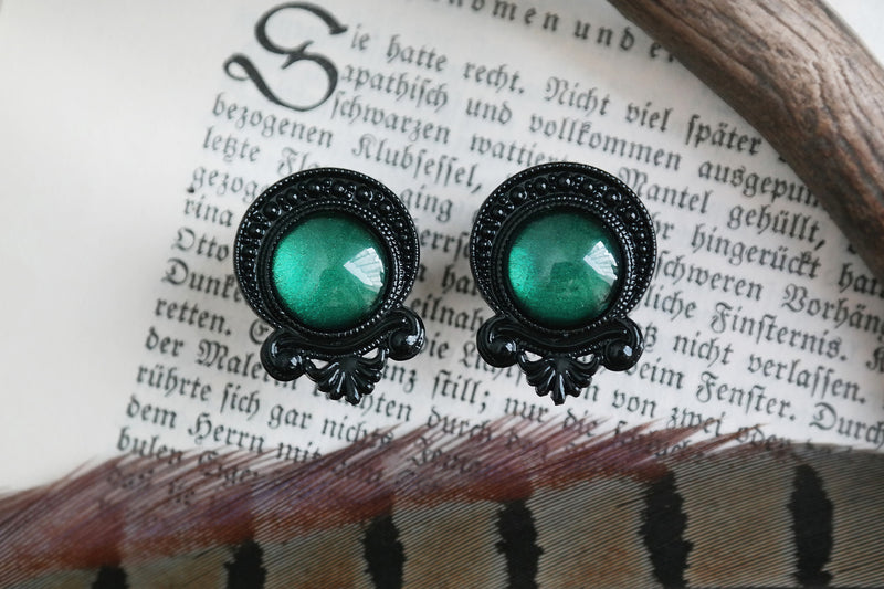 Black Maleficent Plugs | Fux Jewellery