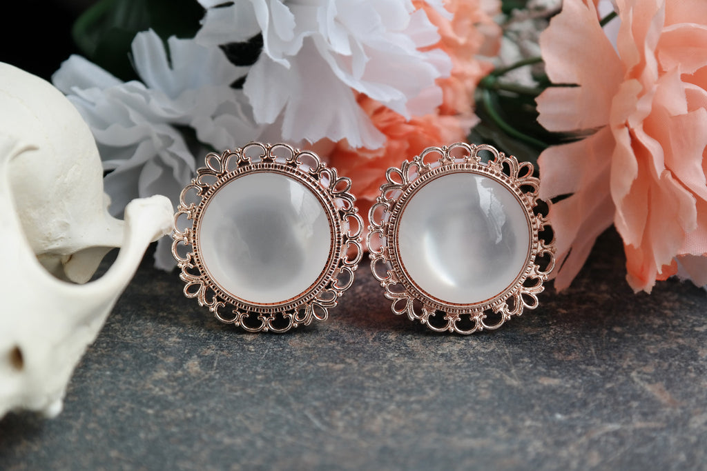 Roségold Ornate Plugs #709 - Fux Jewellery