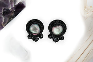 Black Sacred Nebula Plugs #P04 - Fux Jewellery