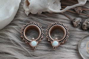 Rose Gold Opal Tunnel #PT03 - Fux Jewellery