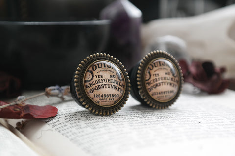 bronze Ouija Plugs #742