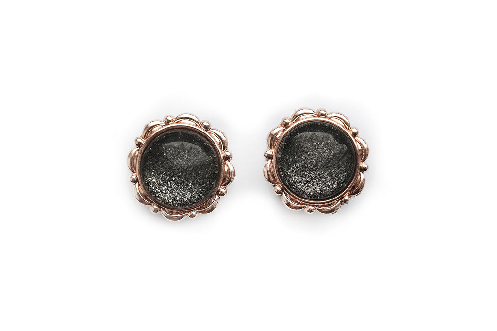 small round roségold Dust Plugs #749 - Fux Jewellery