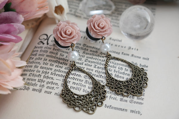 romantic Rose Plugs #422-2