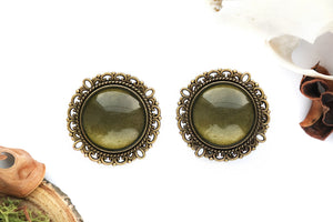 bronze Moss Plugs #754 - Fux Jewellery