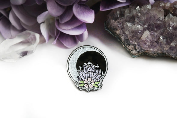 Moon Crystal Pin #LP-01 - Fux Jewellery