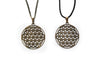 Bronze Flower of Life Necklace #N68 - Fux Jewellery