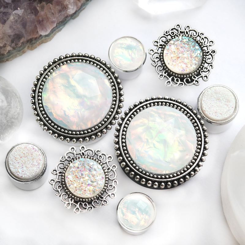 Small Opal Plugs #806 - Fux Jewellery