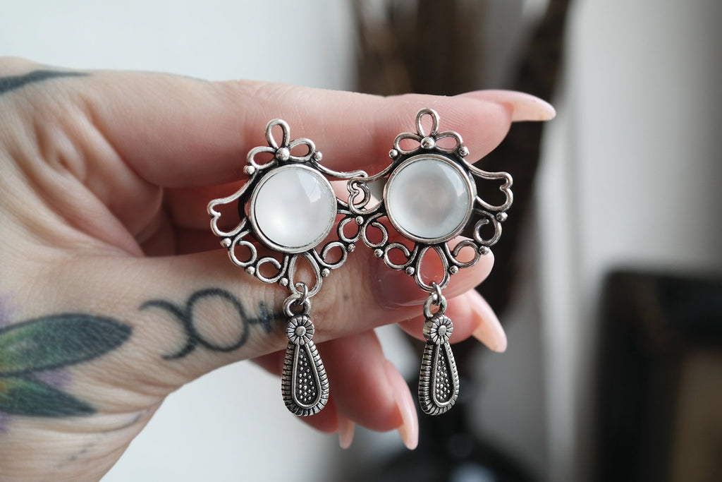 Bridal filigree Plugs #812 - Fux Jewellery