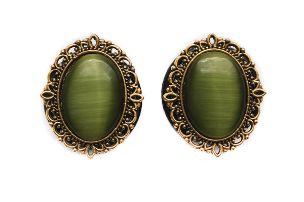 green gold Ornate Plugs #818