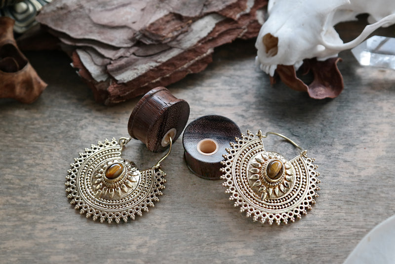 Wooden Hole Plugs #WP02 - Fux Jewellery