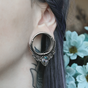 Silver Nocturnal Tunnel #PT02 - Fux Jewellery