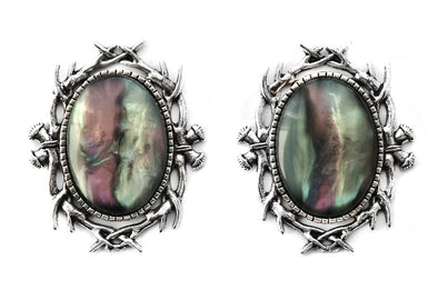 Silver Forest Spirit Plugs #848 - Fux Jewellery