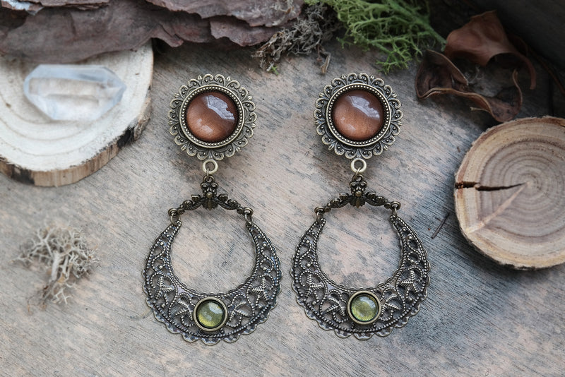 bronze Moon Forest Plugs #855