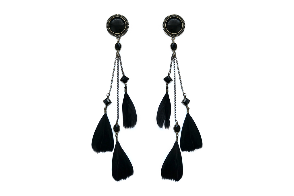 Black Feather Plugs #862