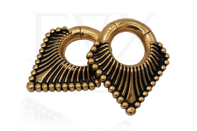 Golden Triangle Clicker Ear Weights