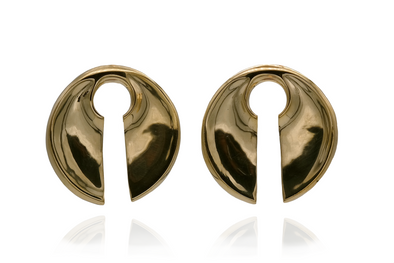 Golden Disc Ear Weights
