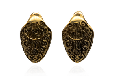 Ornament Spade Ear Weights