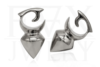 Silver Borneo Ear Weights