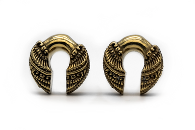 Golden Knuckle Ear Weights