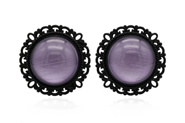 Black Ornate Witchcraft Plugs