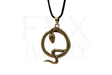 Golden Serpent Necklace