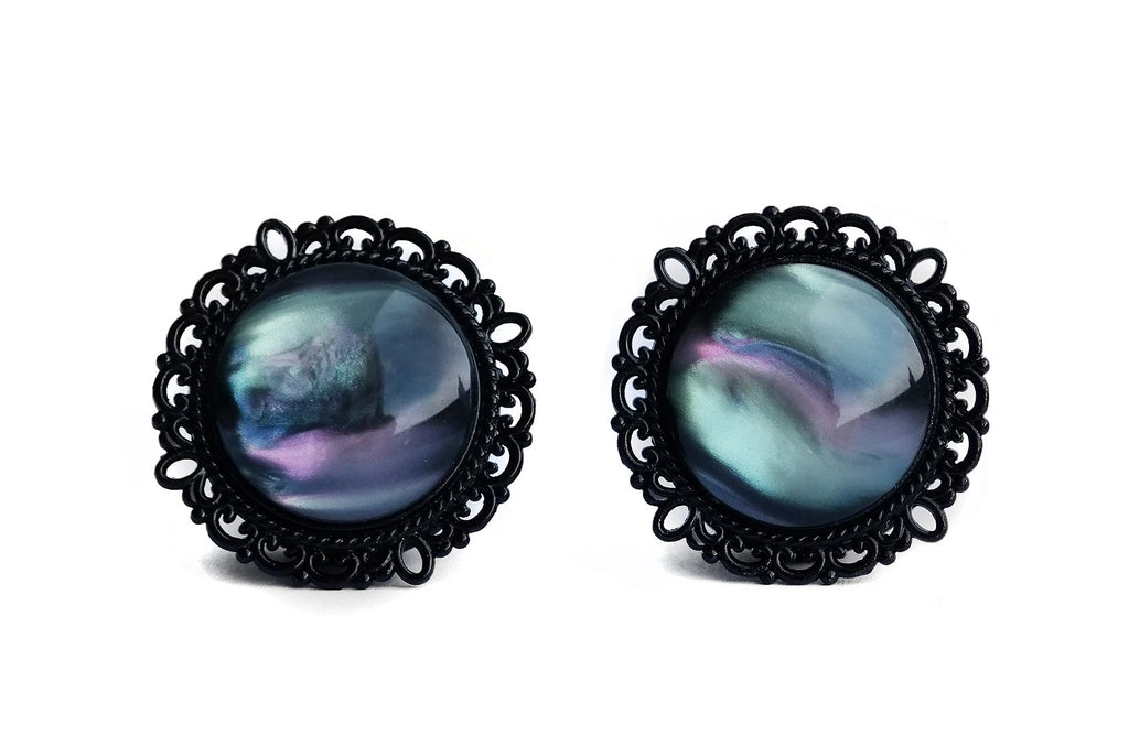 Black Nebula Plugs | Fux Jewellery