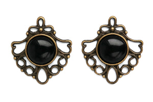 Bronze Baroque Plugs #P13 - Fux Jewellery