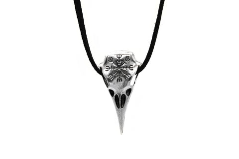 Helm of Awe Ravenskull Necklace #N77