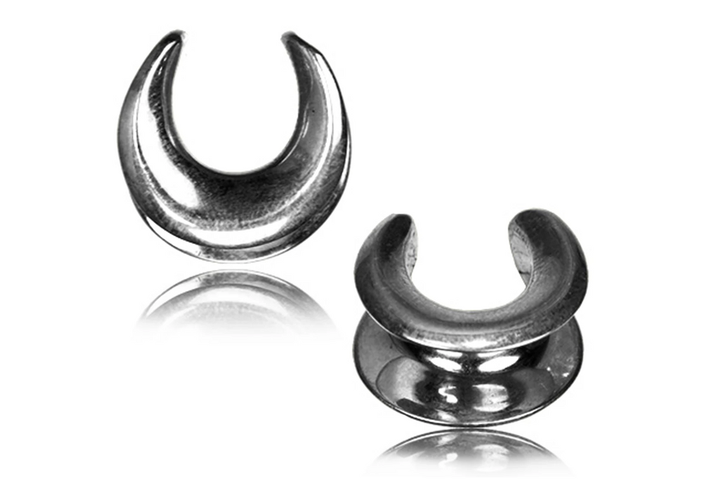 Silver Brass Saddle Spreaders #BH06-S - Fux Jewellery