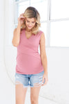 Distressed Denim Shorts - Seven Women Maternity