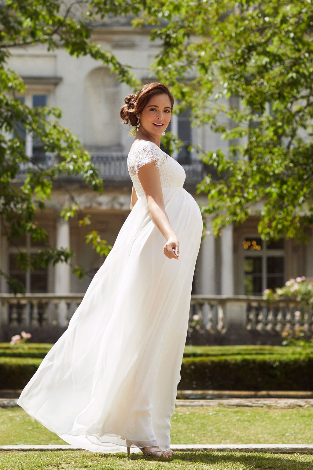 Tiffany Rose Elizabeth Bridal Maternity Dress - Seven Women Maternity