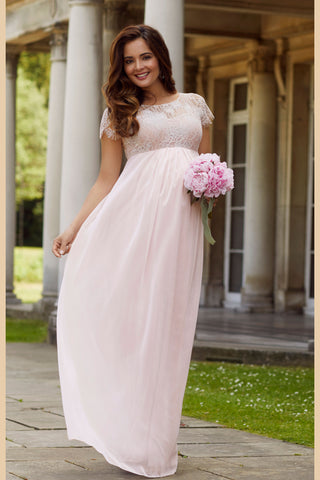 Amelia Lace Bridal Wedding Maternity Gown